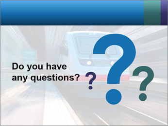 Modern high speed train PowerPoint Template - Slide 96