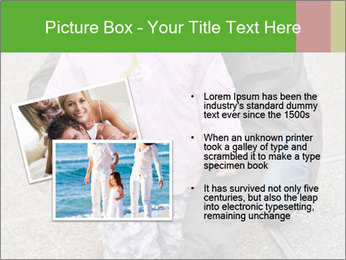 Mother and daughter playing outdoors PowerPoint Template - Slide 20