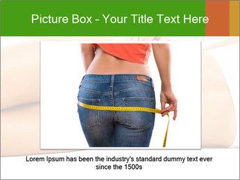 Beautiful female body PowerPoint Template - Slide 15