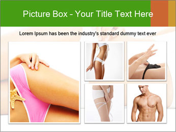 Beautiful female body PowerPoint Templates - Slide 19