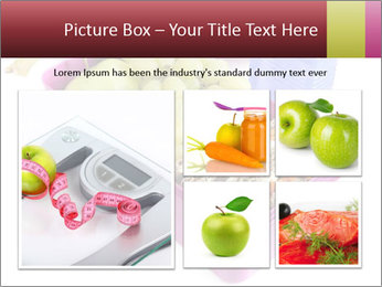 Healthy lunch in a bright pink lunch box PowerPoint Template - Slide 19