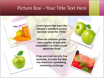 Healthy lunch in a bright pink lunch box PowerPoint Template - Slide 24