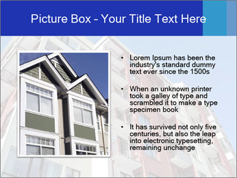 Apartment building. New house. Real Estate. PowerPoint Template - Slide 13