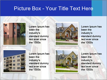 Apartment building. New house. Real Estate. PowerPoint Template - Slide 14