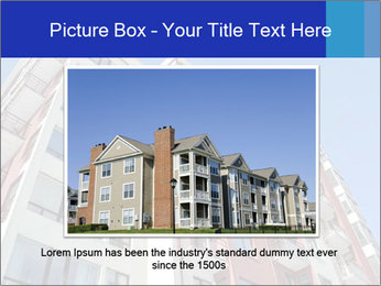 Apartment building. New house. Real Estate. PowerPoint Template - Slide 15