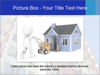 Apartment building. New house. Real Estate. PowerPoint Template - Slide 16