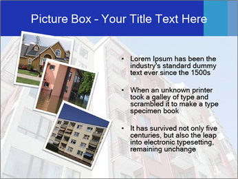 Apartment building. New house. Real Estate. PowerPoint Template - Slide 17