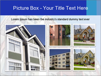 Apartment building. New house. Real Estate. PowerPoint Template - Slide 19