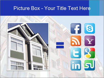 Apartment building. New house. Real Estate. PowerPoint Template - Slide 21