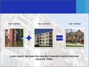Apartment building. New house. Real Estate. PowerPoint Template - Slide 22