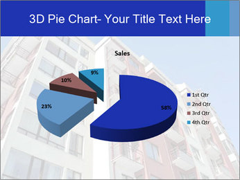 Apartment building. New house. Real Estate. PowerPoint Template - Slide 35