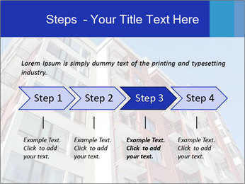 Apartment building. New house. Real Estate. PowerPoint Template - Slide 4