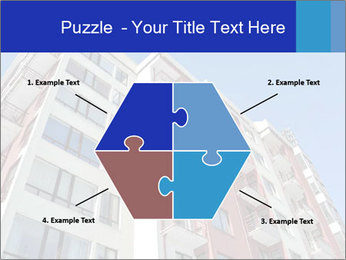 Apartment building. New house. Real Estate. PowerPoint Template - Slide 40