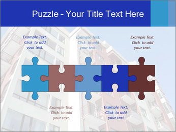 Apartment building. New house. Real Estate. PowerPoint Template - Slide 41