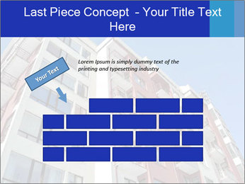 Apartment building. New house. Real Estate. PowerPoint Template - Slide 46