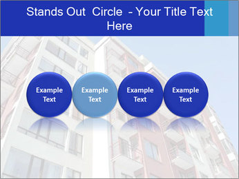 Apartment building. New house. Real Estate. PowerPoint Template - Slide 76