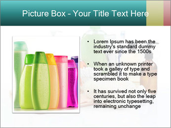 Assorted personal hygiene products PowerPoint Template - Slide 13