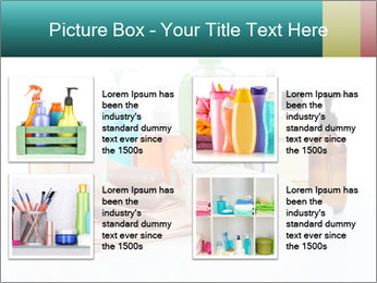 Assorted personal hygiene products PowerPoint Template - Slide 14