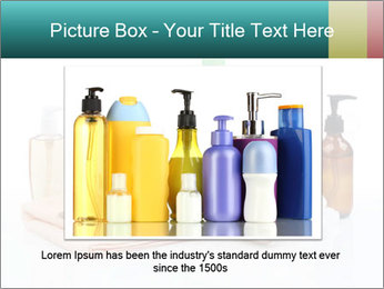 Assorted personal hygiene products PowerPoint Template - Slide 15