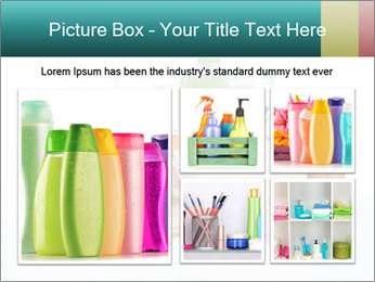 Assorted personal hygiene products PowerPoint Template - Slide 19
