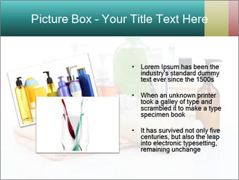 Assorted personal hygiene products PowerPoint Template - Slide 20
