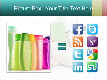 Assorted personal hygiene products PowerPoint Template - Slide 21