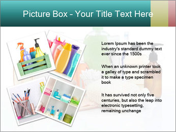 Assorted personal hygiene products PowerPoint Template - Slide 23