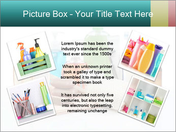 Assorted personal hygiene products PowerPoint Template - Slide 24