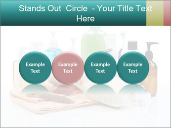 Assorted personal hygiene products PowerPoint Template - Slide 76