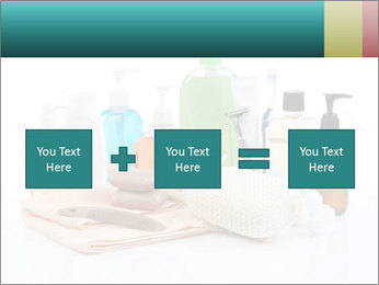 Assorted personal hygiene products PowerPoint Template - Slide 95