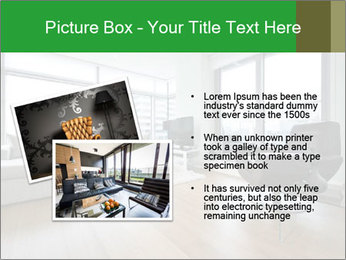 Contemporary living room with designer furniture PowerPoint Template - Slide 20