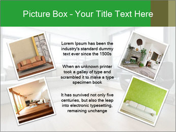 Contemporary living room with designer furniture PowerPoint Template - Slide 24