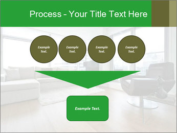 Contemporary living room with designer furniture PowerPoint Template - Slide 93