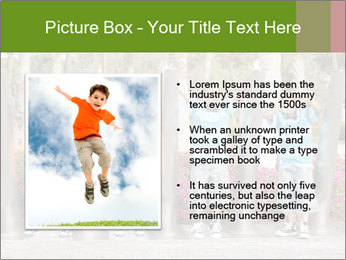 Four brothers in the park PowerPoint Template - Slide 13