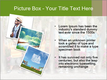 Four brothers in the park PowerPoint Template - Slide 17