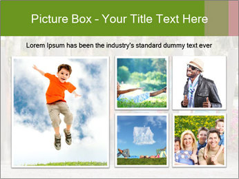 Four brothers in the park PowerPoint Template - Slide 19