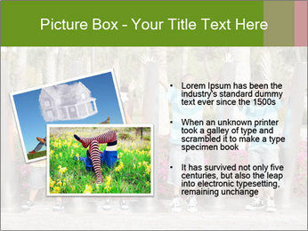 Four brothers in the park PowerPoint Template - Slide 20