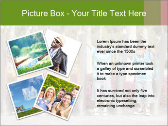 Four brothers in the park PowerPoint Template - Slide 23
