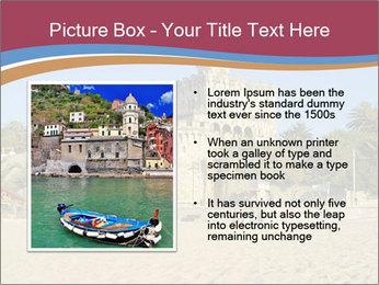 Estoril castle near Lisbon, Portugal PowerPoint Templates - Slide 13
