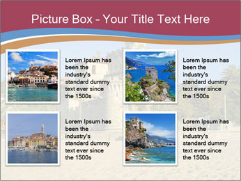 Estoril castle near Lisbon, Portugal PowerPoint Template - Slide 14