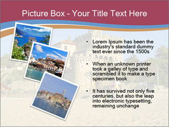 Estoril castle near Lisbon, Portugal PowerPoint Template - Slide 17