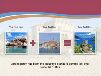 Estoril castle near Lisbon, Portugal PowerPoint Template - Slide 22