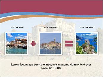 Estoril castle near Lisbon, Portugal PowerPoint Templates - Slide 22