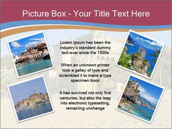 Estoril castle near Lisbon, Portugal PowerPoint Templates - Slide 24