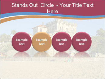 Estoril castle near Lisbon, Portugal PowerPoint Template - Slide 76