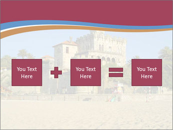 Estoril castle near Lisbon, Portugal PowerPoint Template - Slide 95