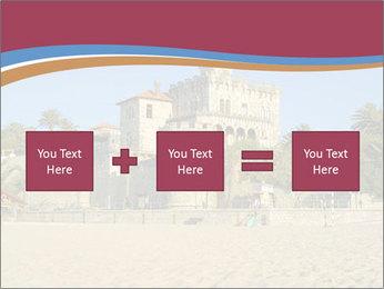 Estoril castle near Lisbon, Portugal PowerPoint Templates - Slide 95