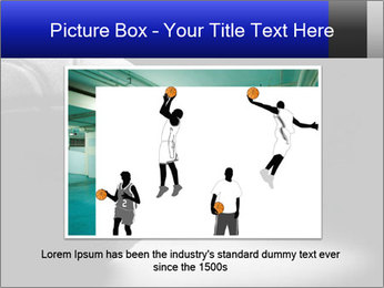 White Basket Ball PowerPoint Template - Slide 15