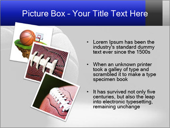 White Basket Ball PowerPoint Template - Slide 17