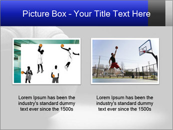 White Basket Ball PowerPoint Template - Slide 18